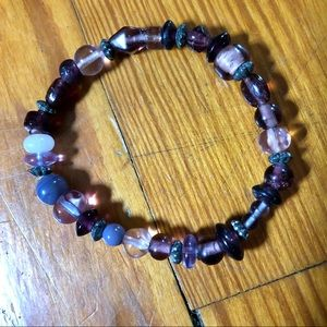 Vintage Jewelry - Set of 4 Beaded Stretch Bracelets